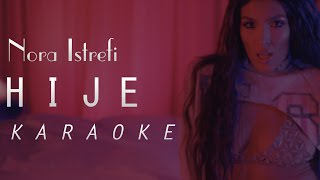 Ermal Fejzullahu Ft. Nora Istrefi   Hije (Karaoke \ Instrumental)