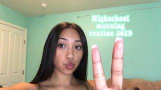 My Highschool Morning Routine 2019 (Freshman)