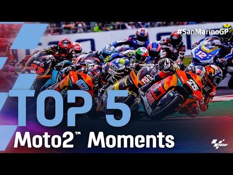 Moto2 2021 第14戦サンマリノ 決勝レースのハイライト動画
