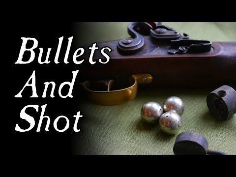 How Were Bullets and Shot Made? – Q&A