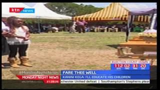 Nyeri based Standard journalist Job Weru laid to rest at his home in Mureru