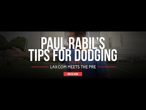 thumbnail for Paul Rabil's Three Tips for Dodging