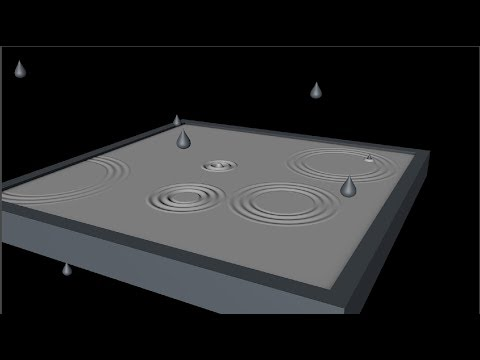 Create Raindrop Ripples