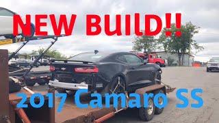 Rebuilding A Wrecked 2017 Camaro 2SS Part 1
