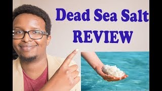Dead sea salt for skin review