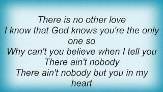 Aaron Neville - Say What's In My Heart Lyrics