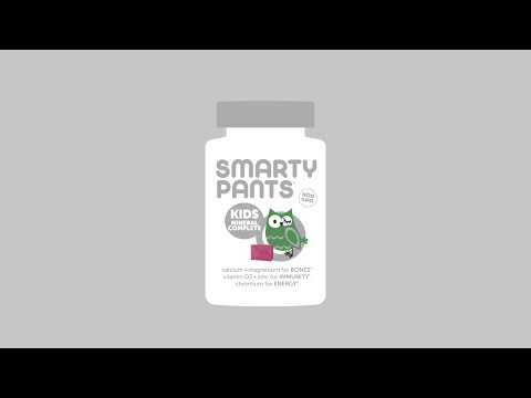 SmartyPants, Kids Mineral Formula, Mixed Berry, 60 Chews