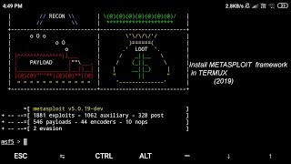 metasploit in termux 2019 tamil - TH-Clip