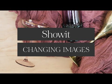Showit Website Builder - Changing and Uploading your Images