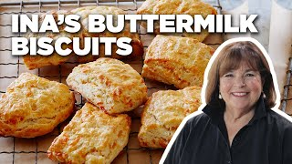 Recipe of the Day: Ina's Buttermilk Cheddar Biscuits | Food Network