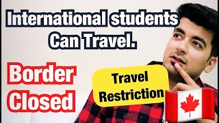 HOW INTERNATIONAL STUDENTS CAN TRAVEL TO CANADA || BORDER CLOSED ||   Kataria TV ||