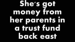 Don't Trust Me - 3OH!3 - Lyrics on screen