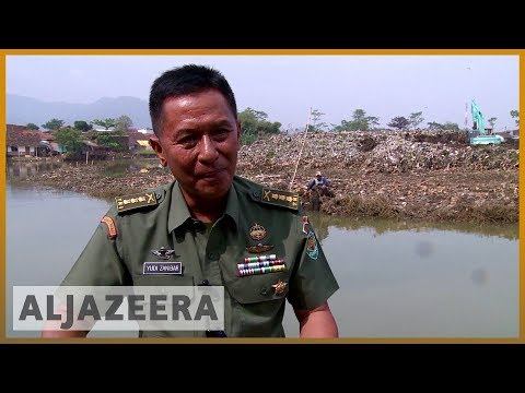 🇮🇩 Indonesia troops deployed to clean one of world's dirtiest rivers | Al Jazeera English
