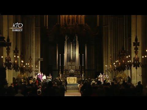 Messe pour la France en direct de Reims