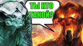 ТИТАН КРОНОС против КАЙДЗЮ ГРОМИЛА.