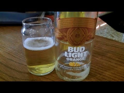Bud Light Orange (4.2% ABV) DJs BrewTube Beer Review #1137
