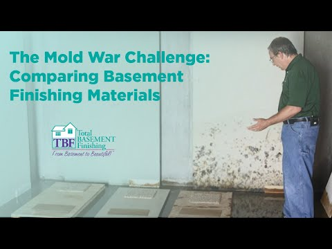 This video will show you how different basement finishing materials react in the event of a basement flood, leak, a water accident, or just by being exposed to typical basement humidity.