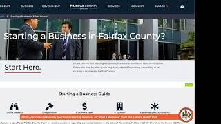 Entrepreneurship 101: Starting a Business in Fairfax County