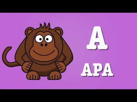 Barnvisa - Alfabetssången Alfabetet - Barnsång   ABC Sång   Barnens ABC