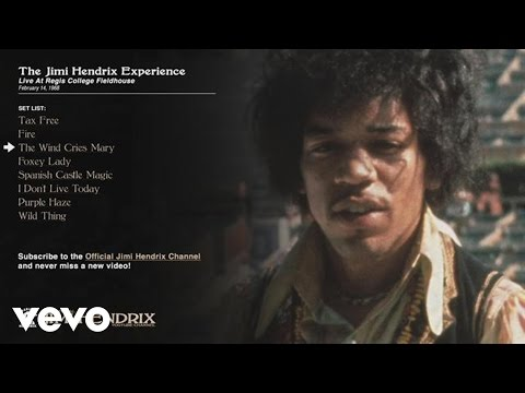 The Jimi Hendrix Experience - The Wind Cries Mary - Regis College 1968 (Audio)