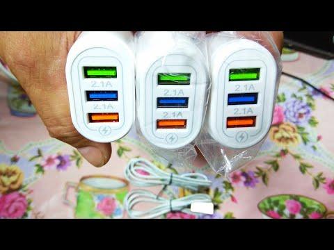 Зарядное устройство для телефона Quick Charge и магнитный кабель зарядки