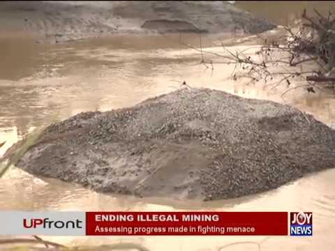 Ending Illegal Mining - UPfront on JoyNews (23-5-18)
