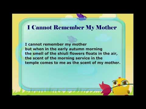 Poem recitation \