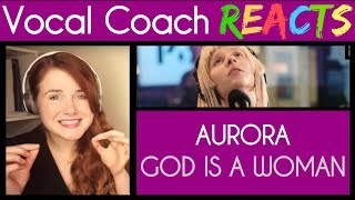 Vocal Coach Reacts To Aurora Singing God Is A Woman