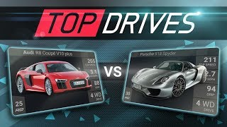 Top Drives NEW Style Racing Game!! Over 700 Cars!!  (Mobile iOS)