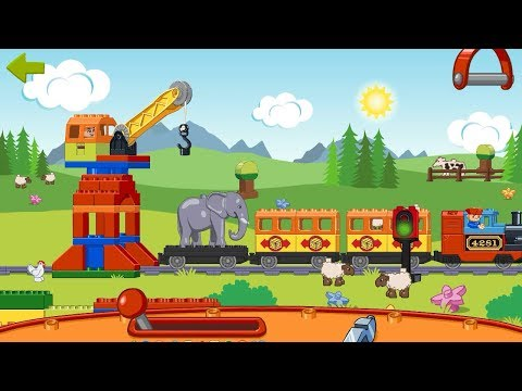 """Mainan kereta api """"mengantar gajah dengan kereta api"""