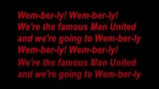 manchester united (Man United song) (with lyrics)