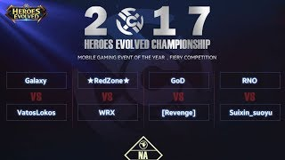 Heroes Evolved: 2017 HEC NA Arena Day2