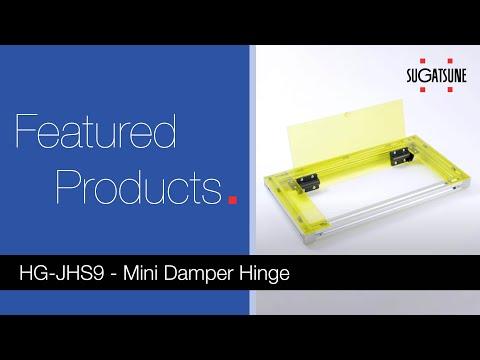 HG-JHS9 Mini Damper Hinge