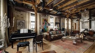 Vintage, Rustic, Industrial ▸ Eclectic Loft Apartment Tour In Russia