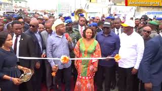 Commissioning of Youth Avenue, Mbiabong Etoi by Governor Udom Emmanuel