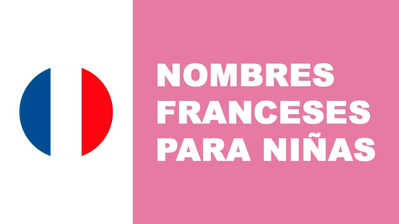 Nombres franceses para niñas