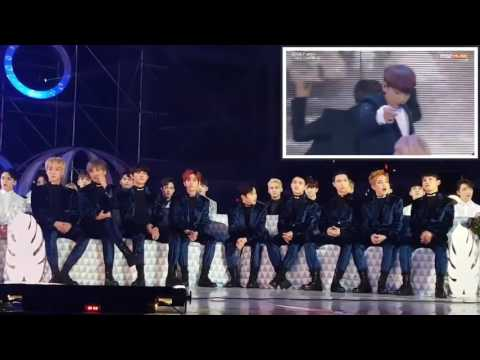 EXO reaction to BTS Blood Sweat and Tears & Fire