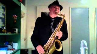 Fly me to the moon on Tenor Sax