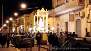 preview picture of video 'Fiero di essere di Orta Nova - Processione e festa in onore della B.V.M. di Lourdes'