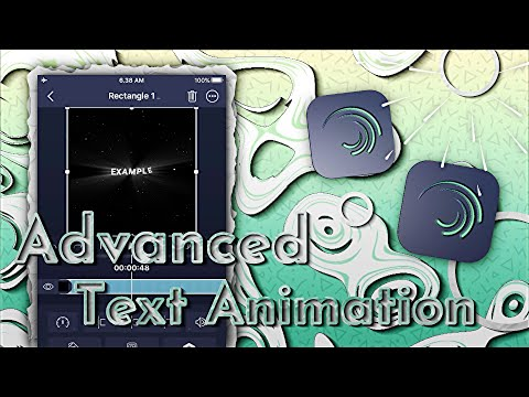 ADVANCED TEXT ANIMATION [ AE INSPIRED ] ALIGHT MOTION TUTORIAL