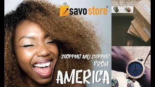 SHOPPING FROM AMERICA: How I Shop And Ship To Kenya With Savostore.com || Patricia Kihoro