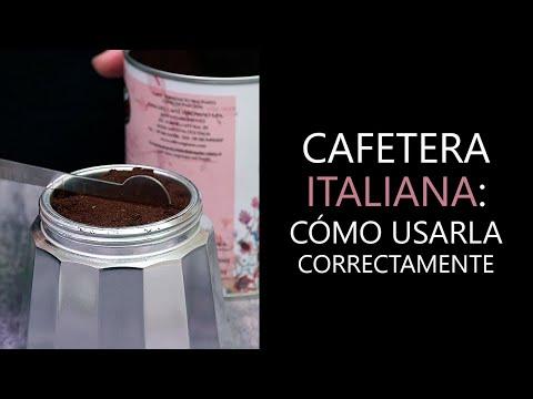 CÓMO USAR LA CAFETERA ITALIANA: Guía básica para preparar café