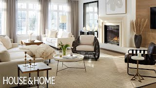 Luxury House Tour: The 2021 Princess Margaret Lottery Showhome's Main Floor