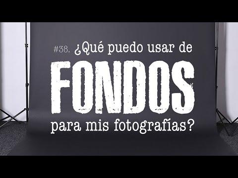 #38 ¿Qué usar como FONDOS para mis fotografías? - Alter Imago