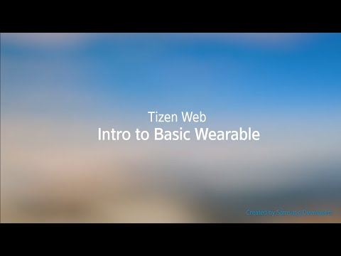 [Web] Intro to Basic Wearable
