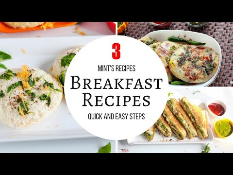 Quick & Easy Breakfast Recipes-Bread Recipes-Evening Snacks Recipes-Indian Breakfast Recipes