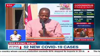CS Kagwe on the situation of COVID-19 in Mombasa and cases demographics within the County