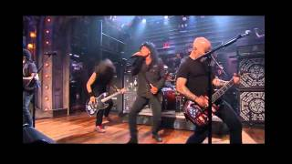 Anthrax - The Devil You Know (Live on Fallon 2011.09.07)