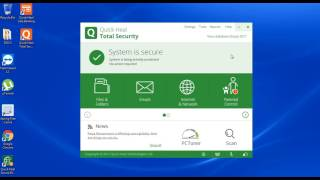 Quick Heal Total Security 2017 Version Update