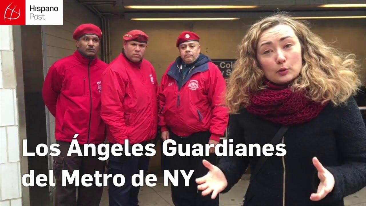 Vuelven los Ángeles Guardianes del Metro de Nueva York